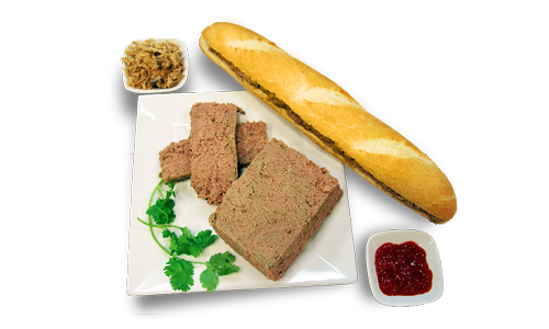 Pate & Chicken Stick