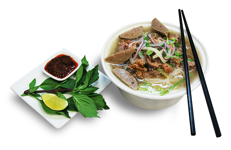PHO - Beef Noodle Soup with Meat Ball