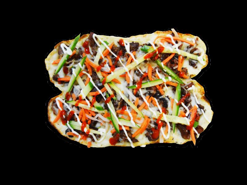 Banh Mi Pizza - Vegetarian