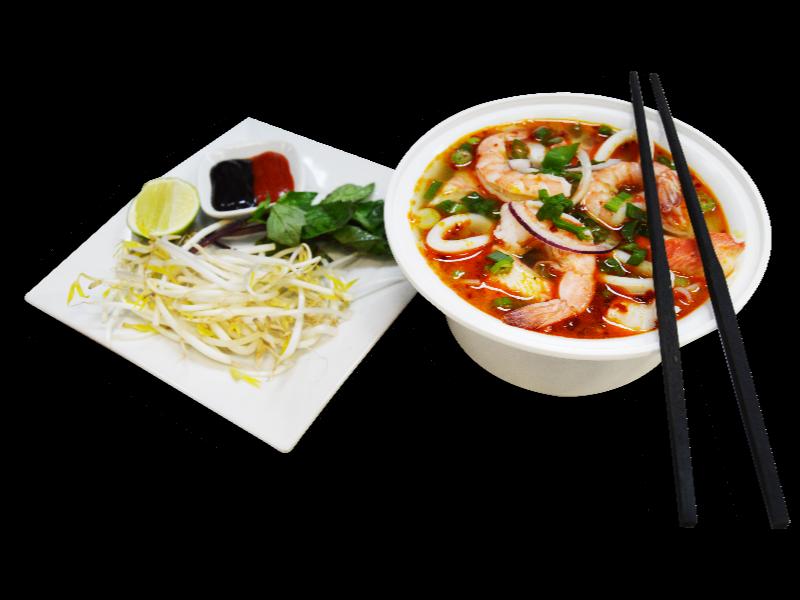 PHO - Seafood Tom Yum Noodle Soup